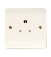 Click Scolmore 1-GANG 5A Round Pin Socket Outlet