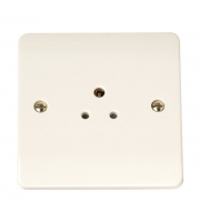 Click Scolmore 1-GANG 2A Round Pin Socket Outlet