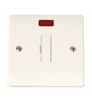 Click Scolmore 13A Fused Connection Unit Neon