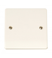 Click Scolmore 1-GANG Blank Plate