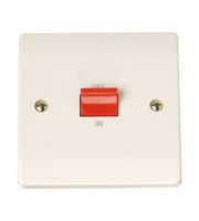 Click Scolmore 1-GANG45A D/p Switch