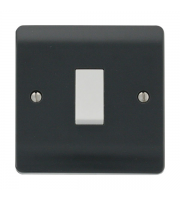 Click Scolmore 10AX 1 GANG 2 WAY SWITCH