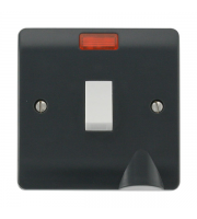 Click Scolmore 20A DP SWITCH NEON