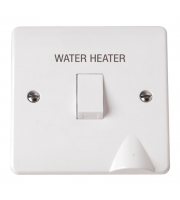 Click Scolmore 20A Dp Sw+fo Water