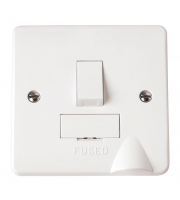 Click Scolmore 13A Fused Connection Unit Switched