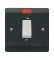 Click Scolmore 45A DP SWITCH + NEON