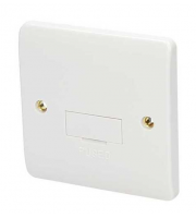 Click Scolmore 13A Fused Connection Unit Without Flex Outlet (White)