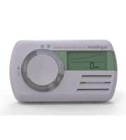 FireAngel 7yr Battery Operated, Sealed For Life, Digital Carbon Monoxide Alarm (White)
