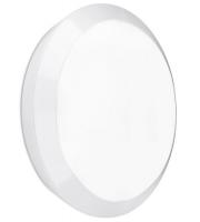 Enlite Orbital IP66 15W Emergency LED Bulkhead (White)