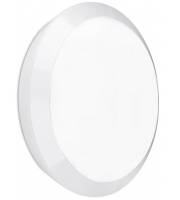 Enlite Orbital IP66 15W Microwave Sensor LED Bulkhead (White)