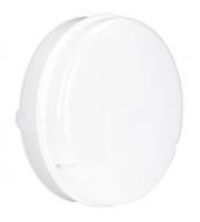 Enlite Utilite 18W IP65 Round Emergency LED Drum Bulkhead (Black)