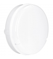 Enlite Utilite 18W IP65 Round Microwave Sensor LED Drum Bulkhead (Black)
