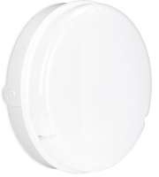 Enlite Utilite 18W IP65 Round Microwave Sensor LED Drum Bulkhead (White)