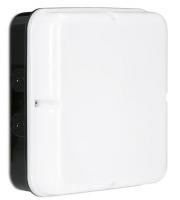 Enlite Utilite 18W IP65 Square Drum LED Bulkhead (Black)