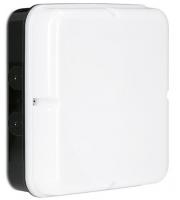 Enlite Utilite 18W IP65 Square Drum Emergency LED Bulkhead (Black)