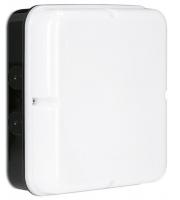 Enlite Utilite 18W IP65 Square Drum Microwave Sensor LED Bulkhead (Black)