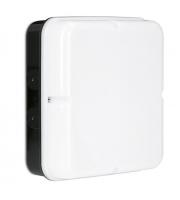 Enlite Utilite 18W IP65 Square Drum Emergency LED Bulkhead (White)