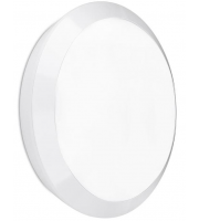 Enlite Orbital IP66 25W Microwave Sensor LED Bulkhead (White)