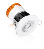 Enlite E8 Colour Switchable Fixed 8W Dimmable LED Downlight (White)