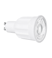 Aurora Lighting 220-240V 10W 24deg GU10 Dimmable Led Lamp 3000K(White)