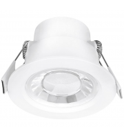 Aurora Lighting 240V 8W 60° Fixed Enfiniti Non-dimmable Round Downlight 3000K(White)