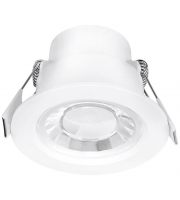 Aurora Lighting 240V 8W 60° Fixed Enfiniti Non-dimmable Round Downlight 4000K(White)