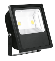 Aurora Lighting 240V IP65 Adjustable 100W Led Flood Light 6500K(White)