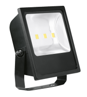 Aurora Lighting 240V IP65 Adjustable 200W Led Flood Light 6500K (Black)