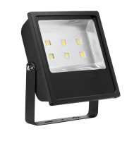 Aurora Lighting 240V IP65 Adjustable 300W Led Flood Light 6500K(White)