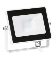 Aurora Lighting 10W Adjustable IP65 Driverless Led Floodlight Black 4000K(White)