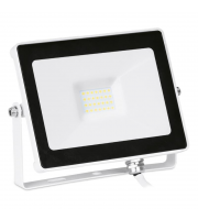 Aurora Lighting 20W Pir Adjustable IP65 Driverless Led Floodlight Black 4000K(White)