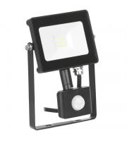 Aurora Lighting 50W Pir Adjustable IP65 Driverless Led Floodlight Black 4000K(White)