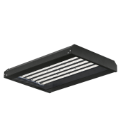 Aurora 600x400 Non Dimmable Ambient Linear Highbay Black