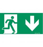 Enlite Down Emergency Exit Legend