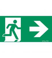 Enlite Left/Right Emergency Exit Legend