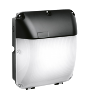 Aurora 100-240V 30W IP65 LED Wall Pack Emergency 4000K (Black)