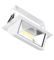 Aurora Lighting Adjustable Dali Dimmable Rectangular Led Wallwasher 4000K