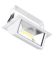 Aurora Lighting Adjustable 1-10V Dimmable Rectangular Led Wallwasher 4000K