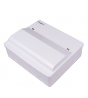 Fusebox Dual Rcd 6WAY (2X80A 30mA Rcd) (White)