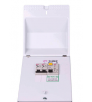 Fusebox 63A 30mA Rcd Garage Unit B6/B16 Mcbs (White)