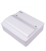 Fusebox 10WAY Spd T2 (2x100A 30mA Rcds Type A) (White)