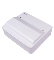 Fusebox Dual Rcd 16WAY Spd T2 (2 X 80A 30mA Rcd) (White)