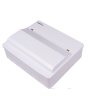 Fusebox 16WAY Spd T2 (2x100A 30mA Rcds Type A) (White)