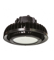 Qvis Lighting Modern Led Highbay 100w Meanwell, Philips Leds 13,000lumen Ufo Style (Black)
