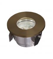 Elstead Fusion Plain Ring In-groud Light - (Brass)