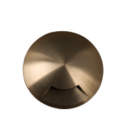Elstead Fusion 1 Direction Ring In-ground Light - (Solid Natural Brass)