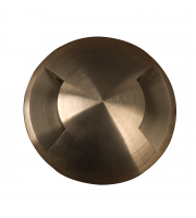 Elstead Fusion 2 Direction Ring In-ground Light - (Solid Natural Brass)