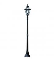 Elstead Ledbury 1 Light Lamp Post (Black)
