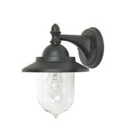 Elstead Sandown 1 Light Wall Lantern (Black)