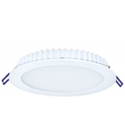 Qvis Lighting 180mm Downlight 15w 1650lumen, Tridonic Driver, Epistar Leds, 4000k Emergency Flicker Free Tpa Fire Rated (White)
